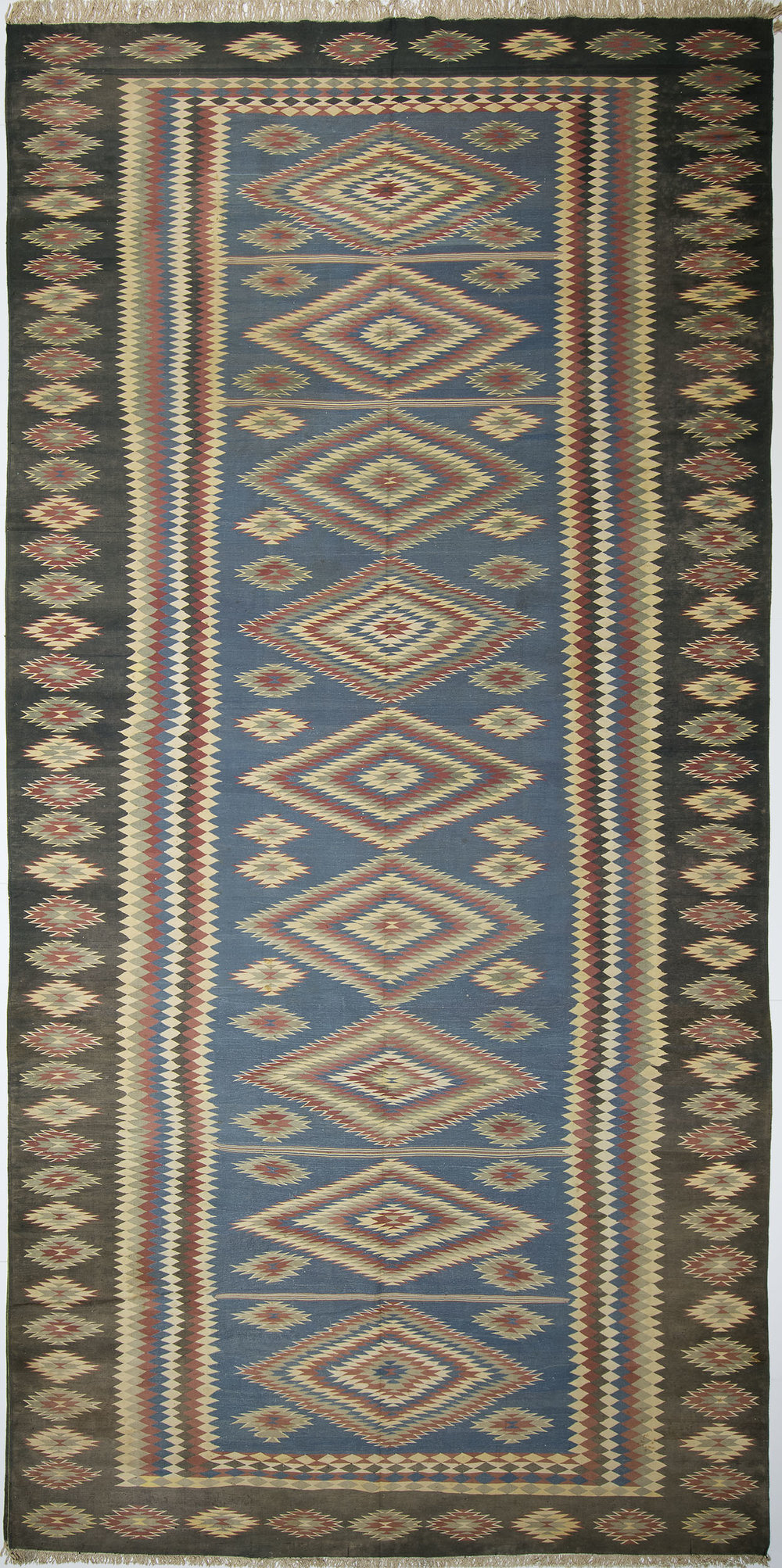 "Cotton Dhurrie 20' 4"" x 10' 0"""