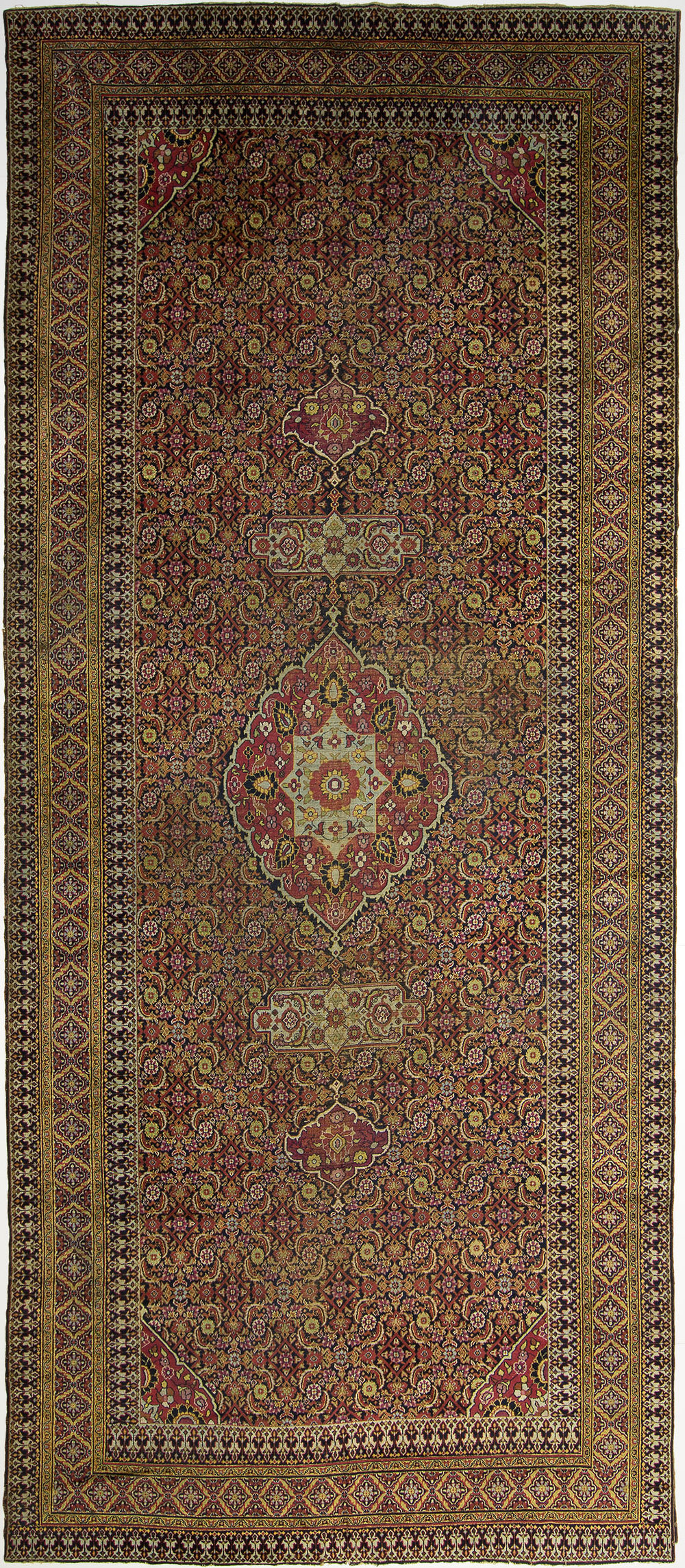 "Khorassan Gallery Carpet 19' 7"" x 8' 0"""