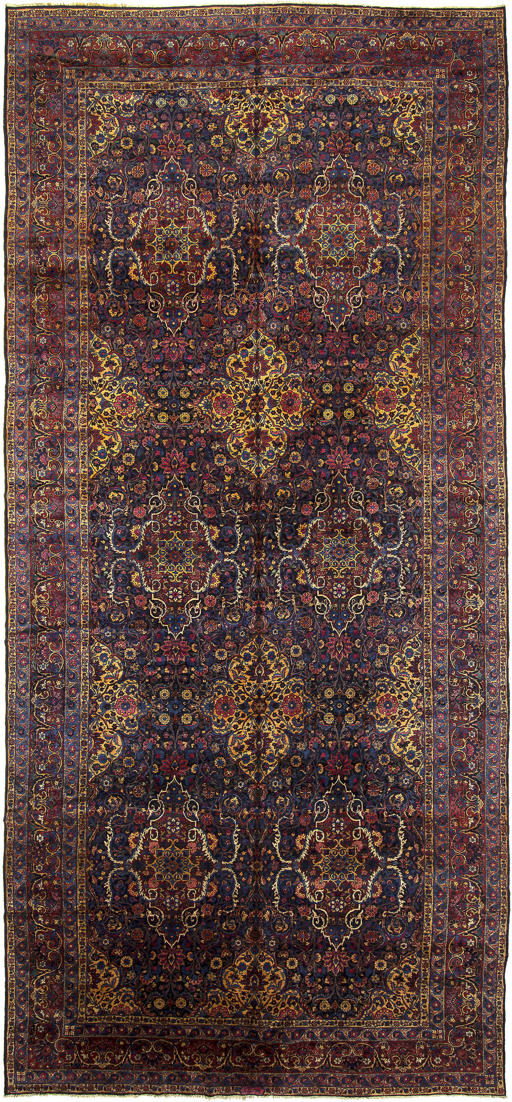 "Kerman Carpet 21' 5"" x 9' 9"""