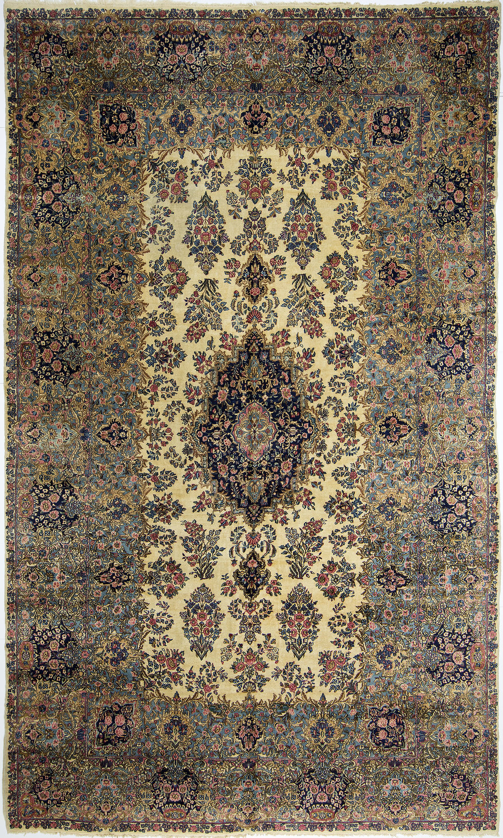 "Kerman Carpet 16' 3"" x 9' 8"""