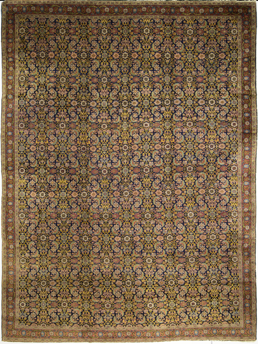 "Indo-Fereghan Carpet 14' 8"" x 10' 10"""
