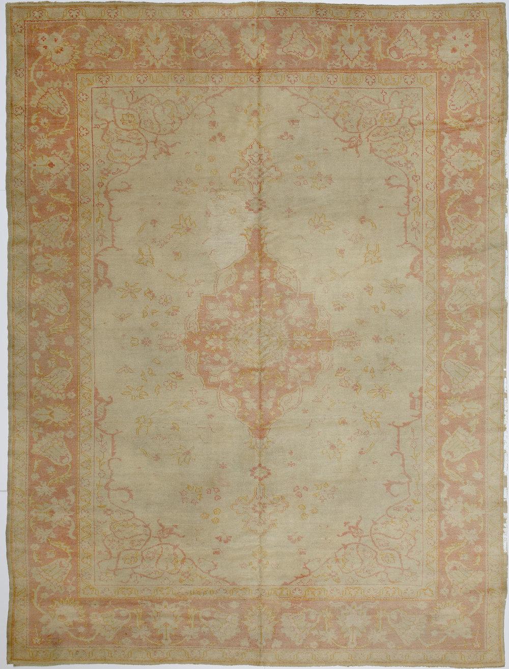 """Borlu Oushak Carpet 11' 1"""" x 8' 3"""""""