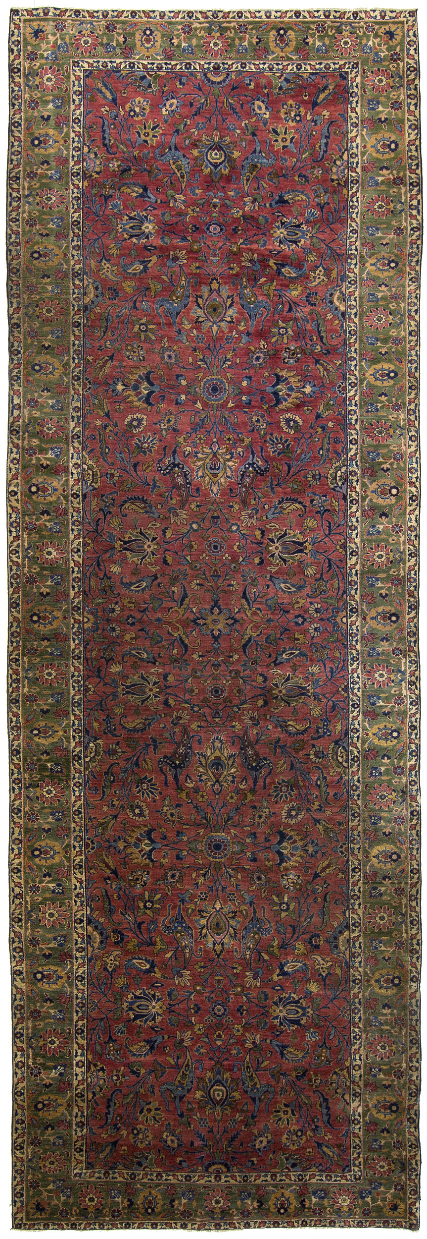 "Sarouk Gallery Carpet 18' 0"" x 6' 0"""