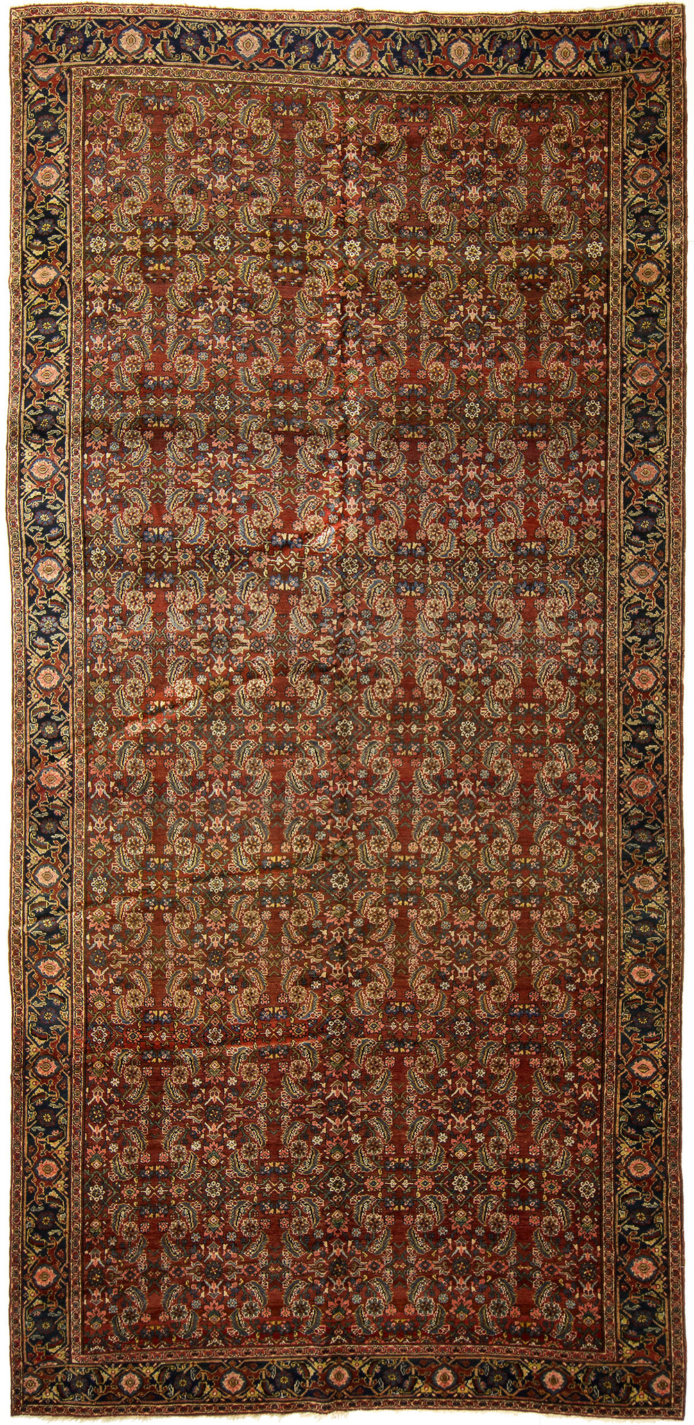 "Tabriz Gallery Carpet 15' 0"" x 7' 5"""