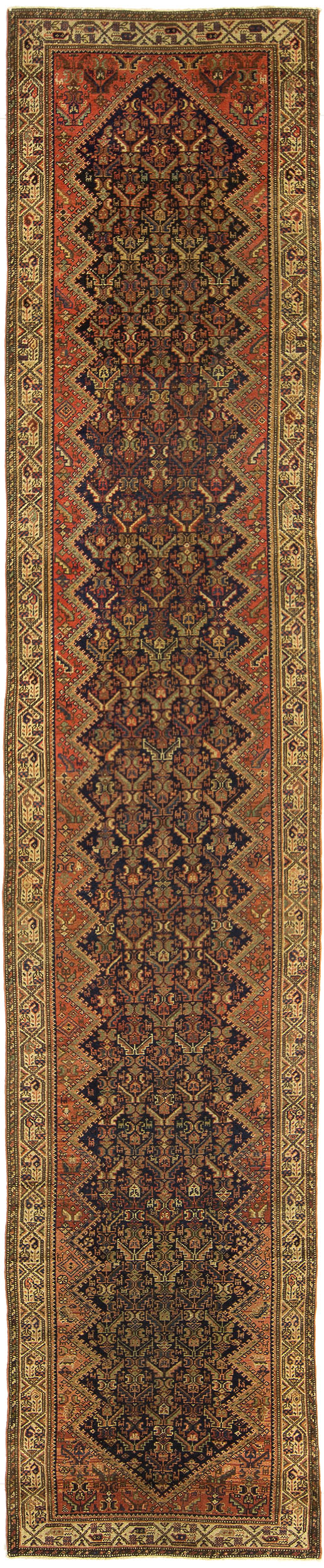 "Malayer Runner 13' 7"" x 2' 8"""
