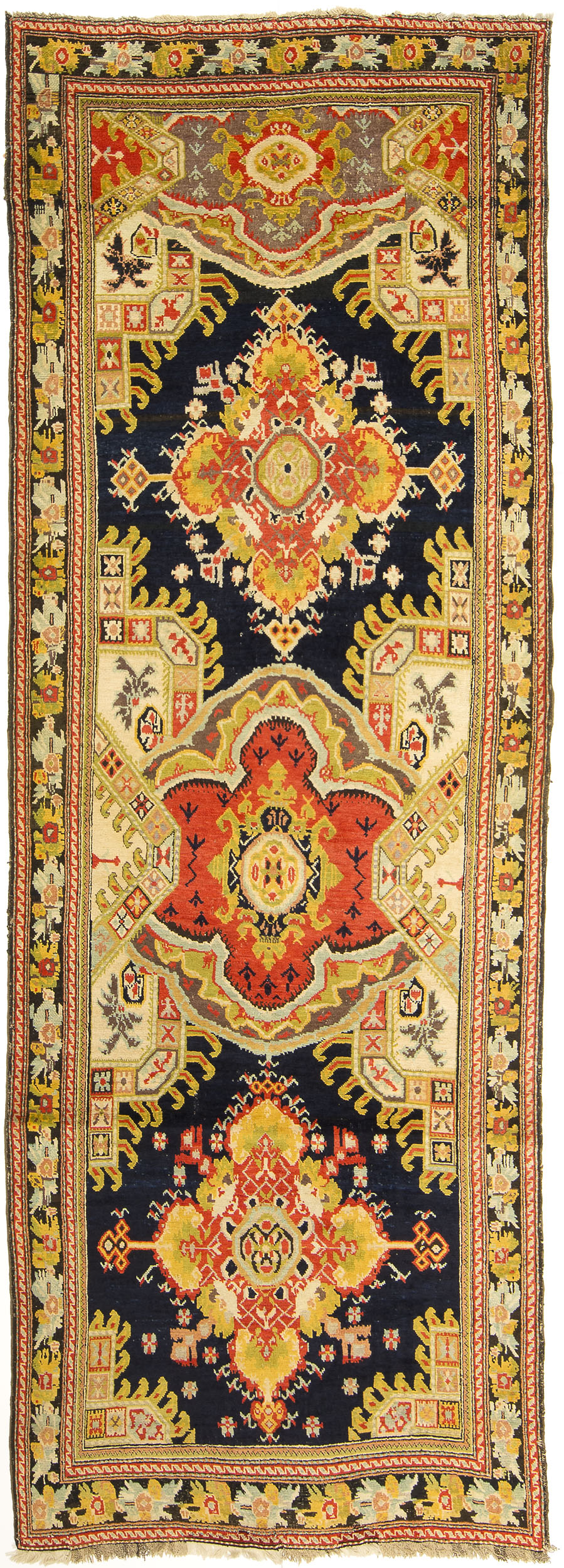 "Karabagh Gallery Carpet 12' 6"" x 4' 5"""