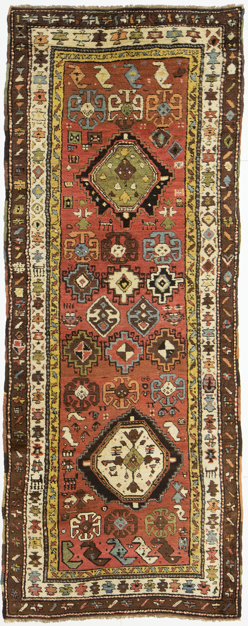 "Shirvan Runner 9' 5"" x 3' 4"""