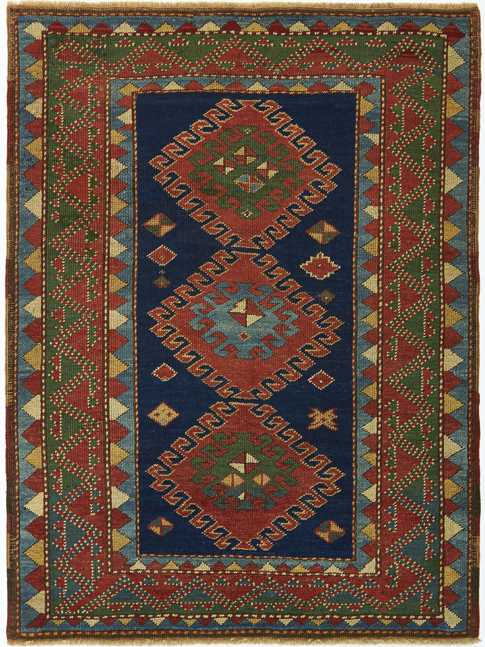Bordjalou Kazak Rug 13561 M Topalian Inc Sales And Appraisals Of