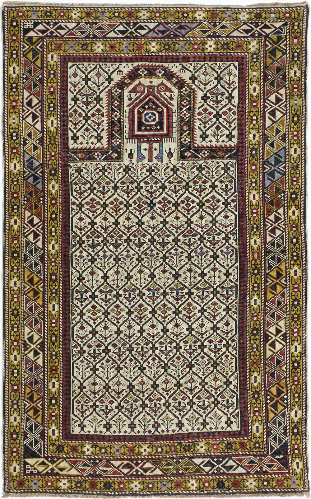 "Marasali Shirvan Prayer Rug 6' 0"" x 3' 8"""