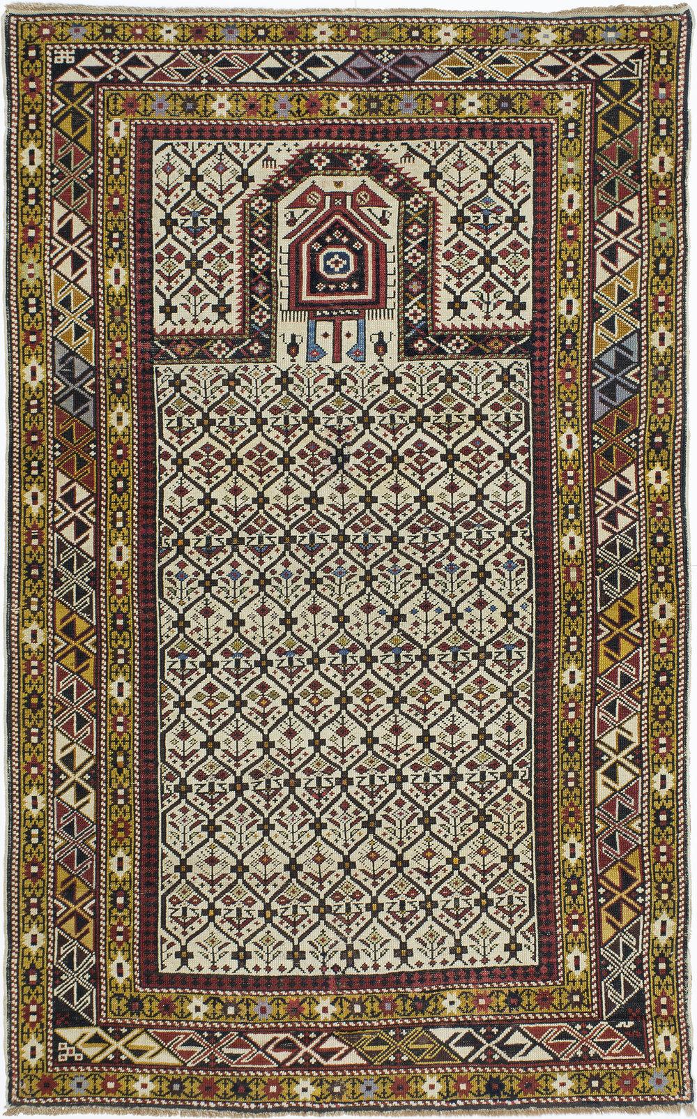 "Marasali Shirvan Prayer Rug 6' 0"" x 3' 8"""