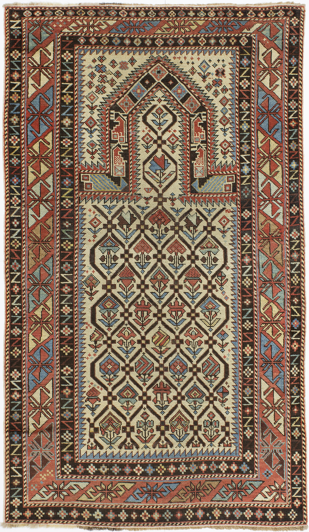 "Marasali Shirvan Prayer Rug 5' 10"" x 3' 4"""