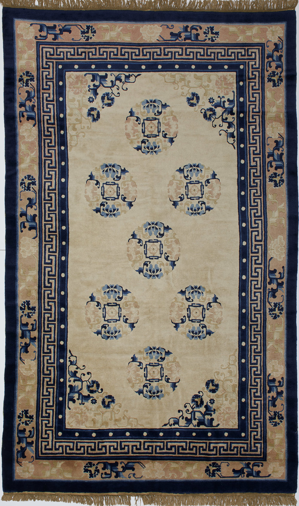 "Peking Chinese Rug 8' 1"" X 5' 0"""
