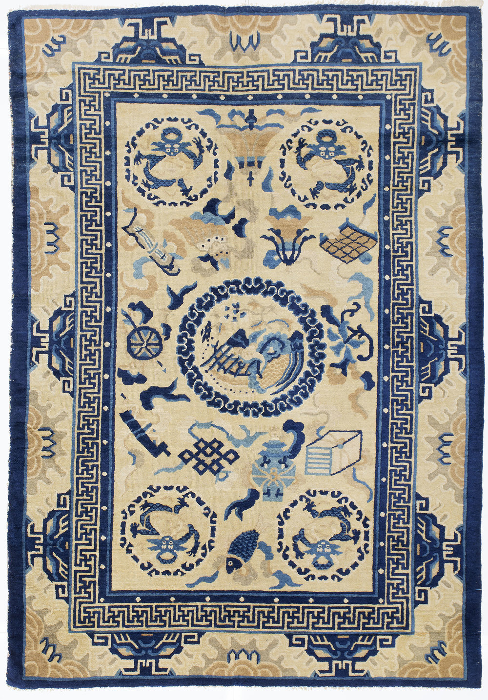 "Peking Chinese Rug 5' 10"" x 4' 0"""