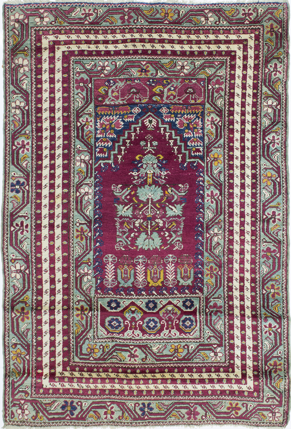 "Kirsheir Prayer Rug 6' 4"" x 4' 3"""