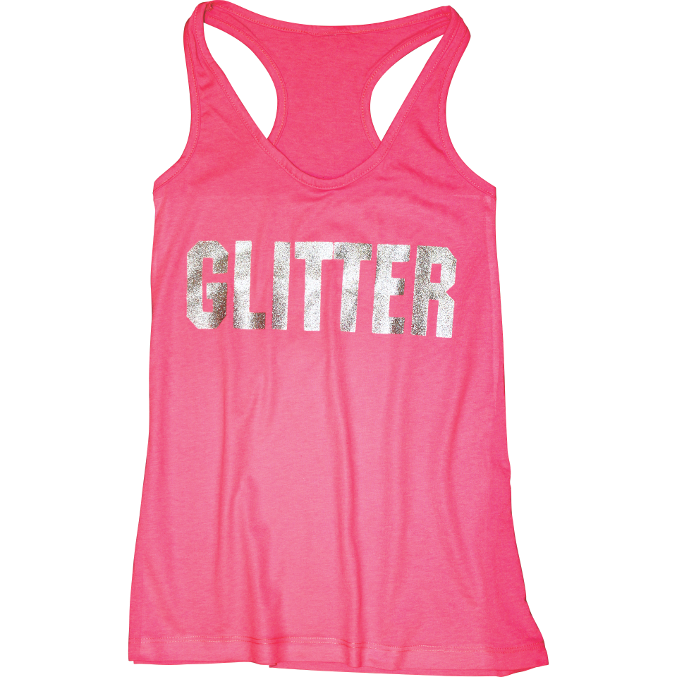 Glitter Custom Heat Transfer