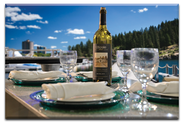 Boat Rental Lake Coeur d'Alene Dining Table