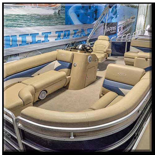 pontoon boat rentals image