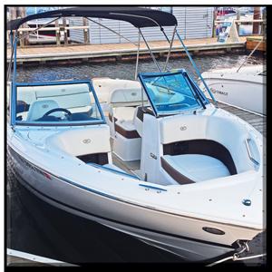 2016 Cobalt 220 ski boat