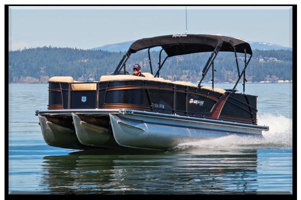 Pontoon boat rentals