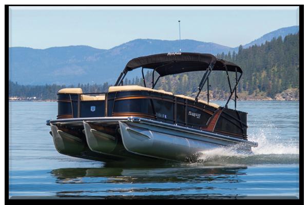 Coeur d'alene pontoon boats for rent