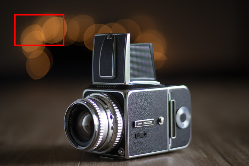 One of the most beautiful cameras ever made; the Hasselblad 500c