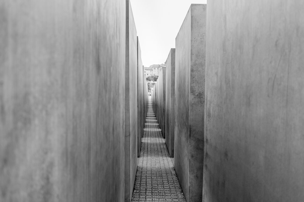 More than 2700 concrete slabs make up the memorial