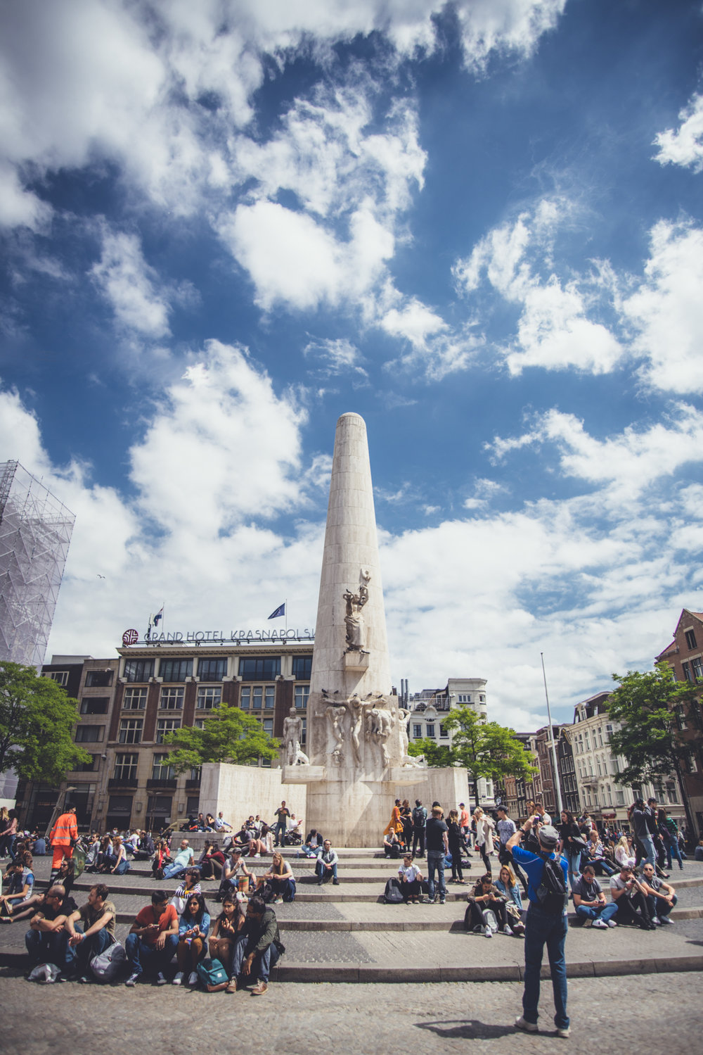 The National Monument on Dam Square - nFD 20-35/3.5L