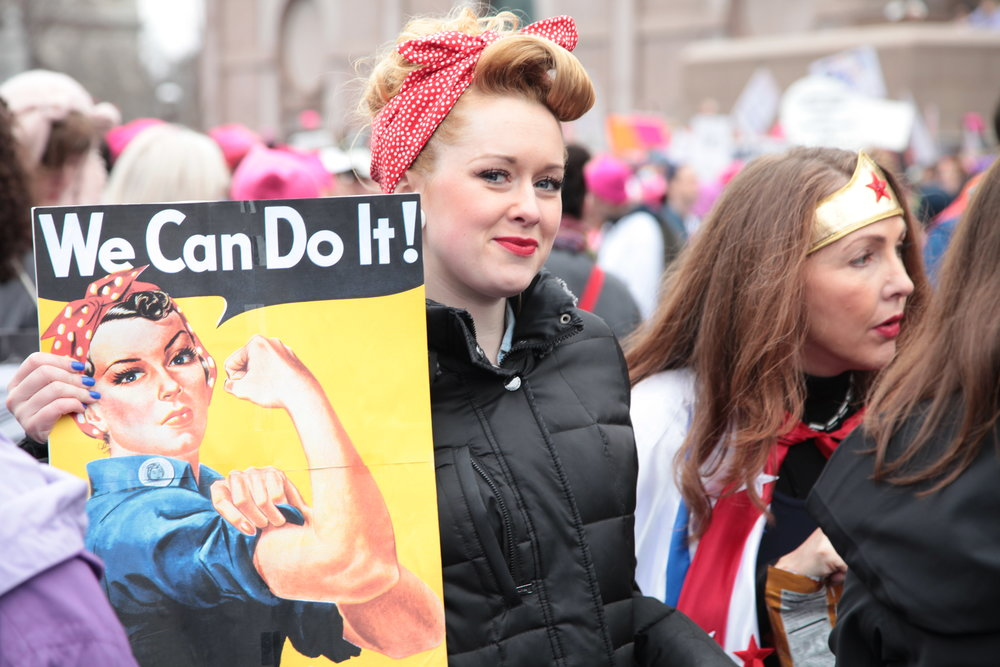 """WOMAN'S MARCH 2017"""