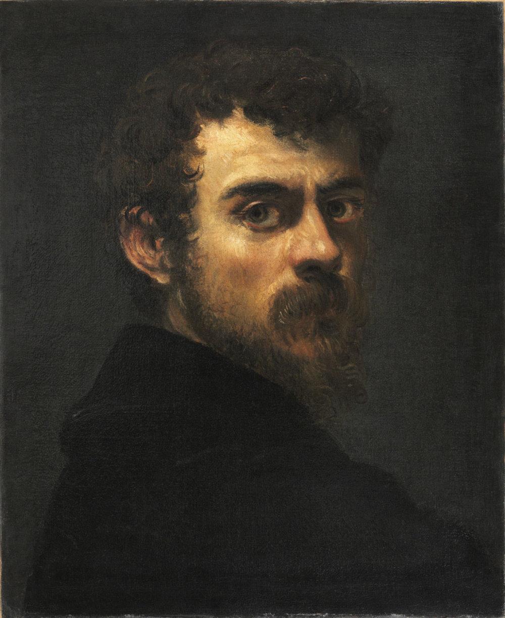 Tintoretto, 'Self-Portrait' c. 1546