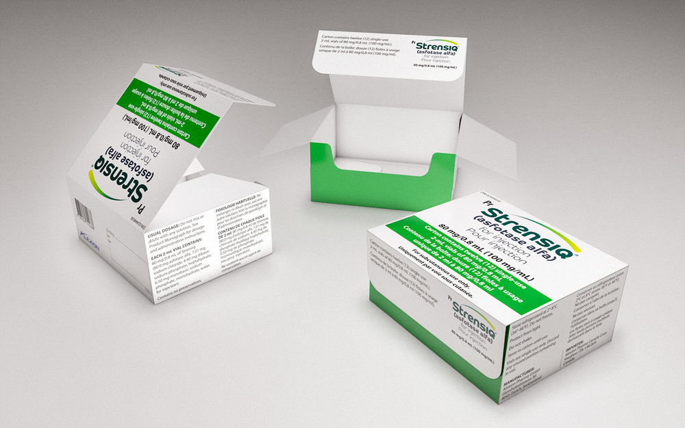 3D Packaging Visualisation for Alexion Pharmaceuticals (Cinema 4D)