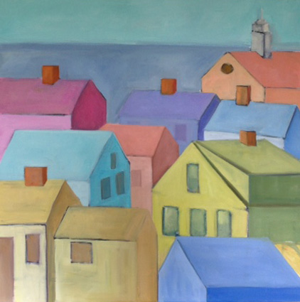 "Nantucket Town(sold) 18"" x 24"""