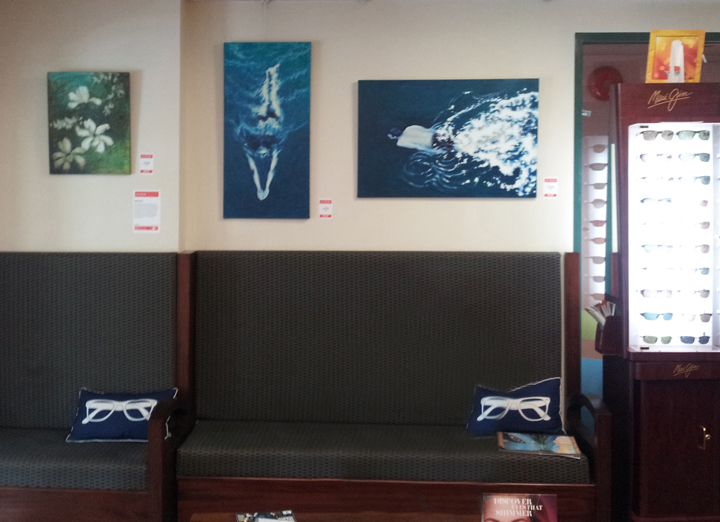 Three works in the Whistler Eye Clinic