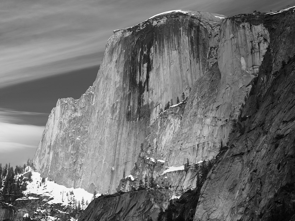 Half Dome from the Apple Orchard. Yosemite Valley, CA. 1998.  BetterLight  Scanning Back.  Click to order a print . Next Workshop   Yosemite in Autumn   October 10-13, 2015.