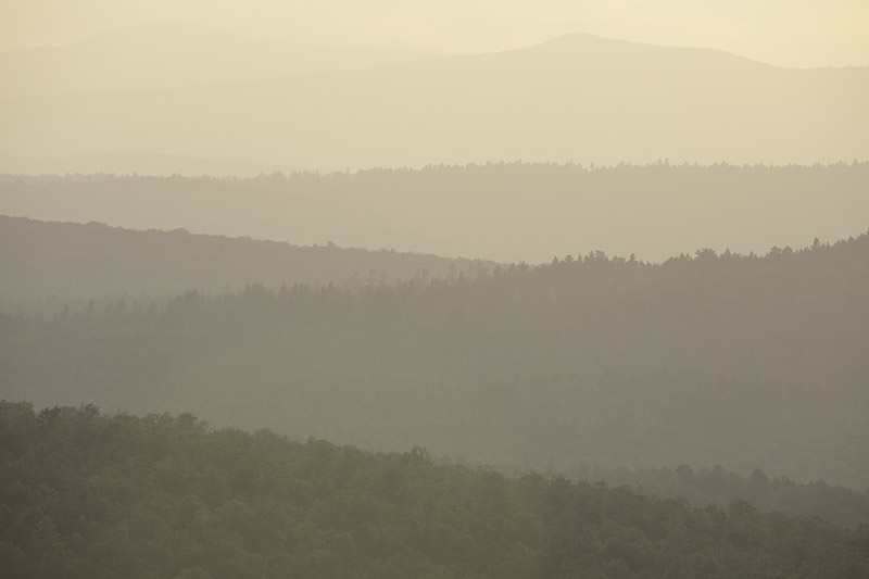 Successions of Hills and Mountains. Maine. 2015. Canon 5DSr.