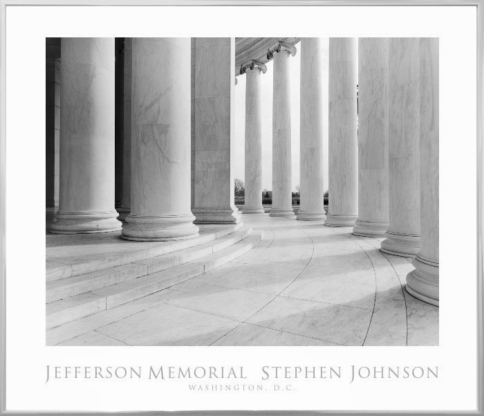 Jefferson Memorial Poster . 1993