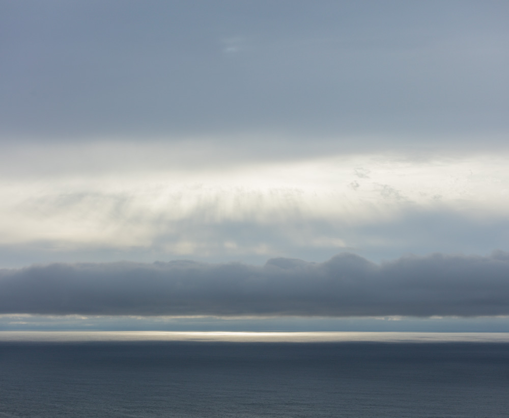 Layers of Sea and Clouds. Pacifica. 2017. Canon EOS-5DSr.