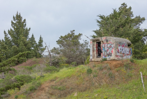 WWII Observation Bunker. GGNRA. Pacifica. 2017. Canon EOS-5DSr.