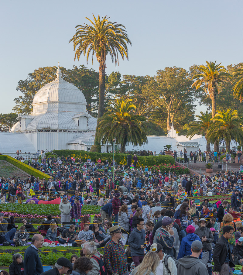 The Conservatory. Golden Gate. Summer Solstice. 2017. Canon 1Dx II.