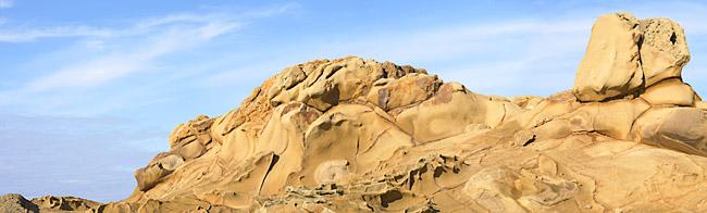 Pebble Beach Rocks. 2004