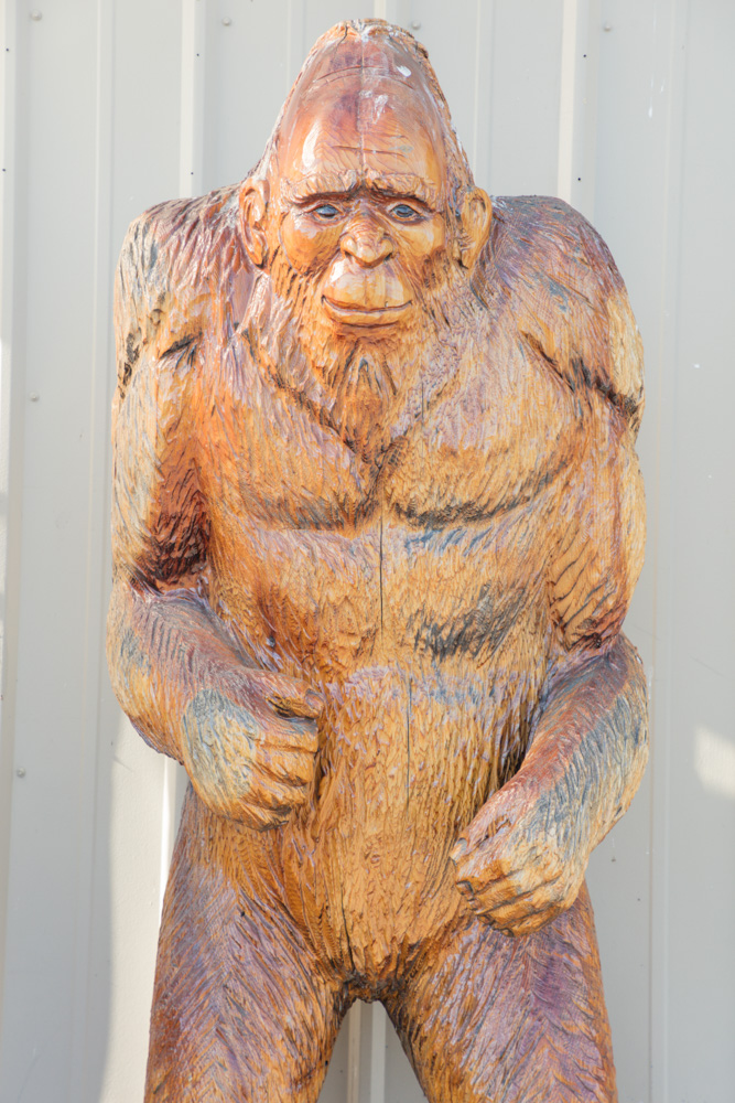 Bigfoot at Nursery in Bend, OR. 2017. Canon 5DSr.