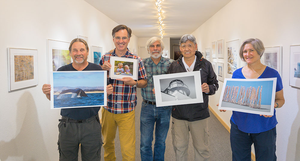 Some of the Fine Art Print ng Class from June 2017.