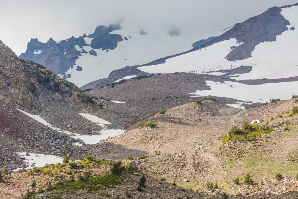 Mt. Shasta at 8500 feet. 2017. Canon 5DSr.