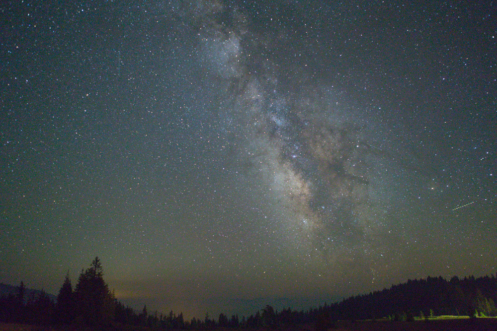 Milky Way from Crater Lake. 2017. Canon 5DSr.
