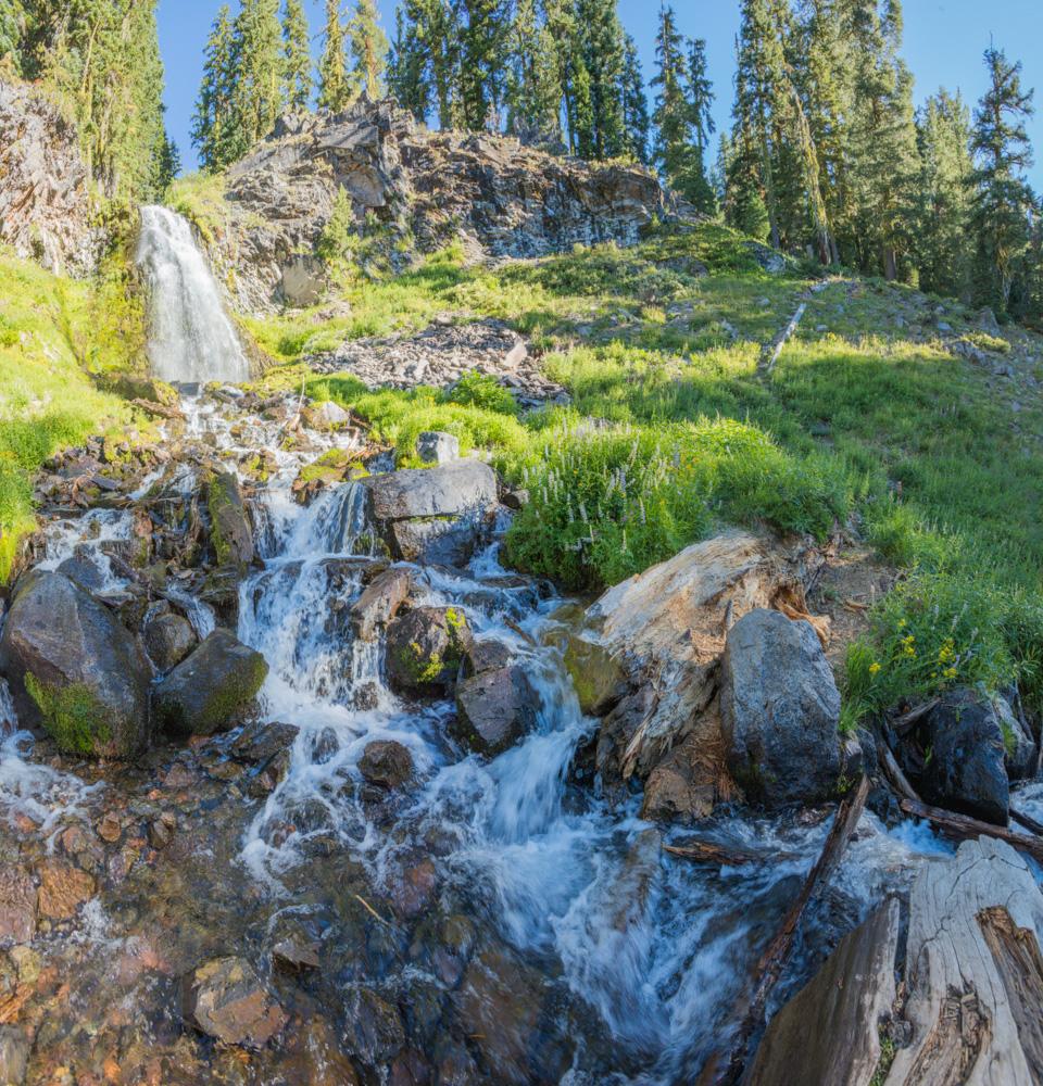 Plaiknii Falls. Crater Lake. 2017. Canon 5DSr.