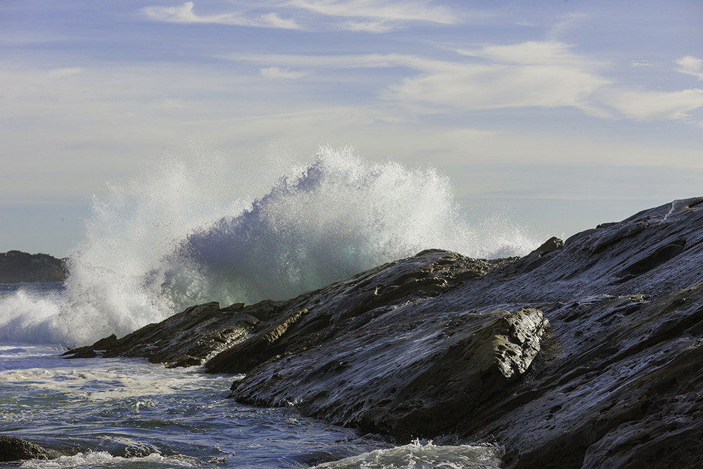 Crashing Surf. Point Lobos.. 2010. Canon EOS-1Ds Mark III