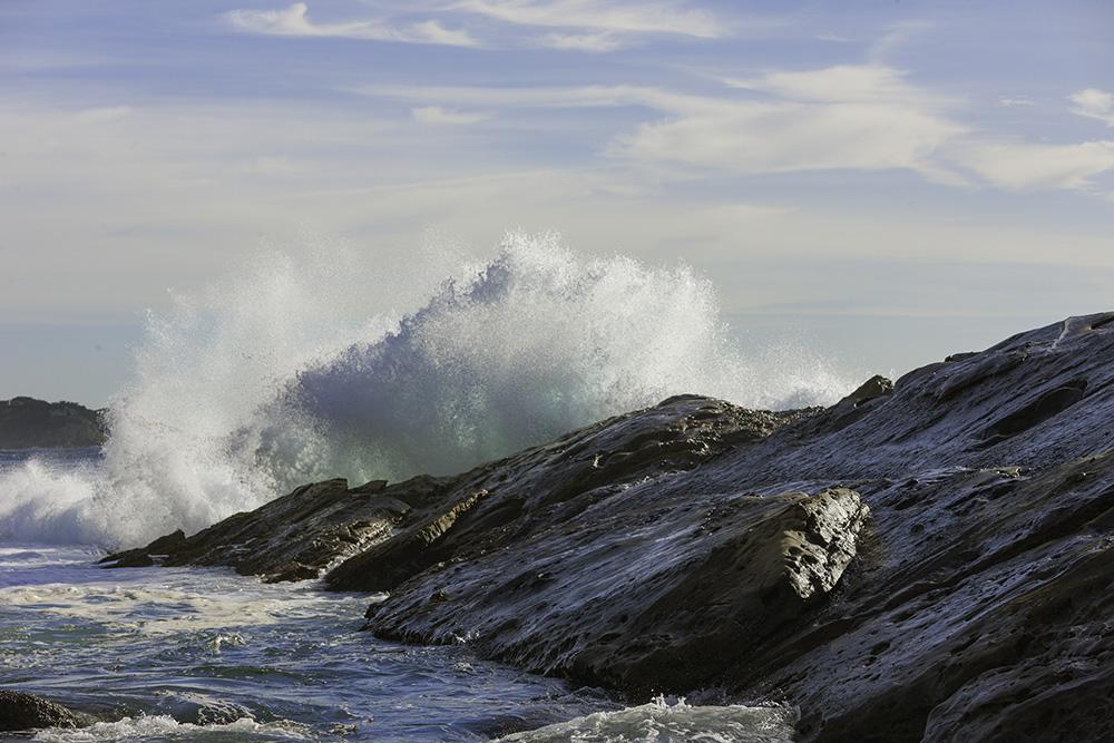 Crashing Surf. Point Lobos.. 2010. Canon EOS-1Ds Mark III