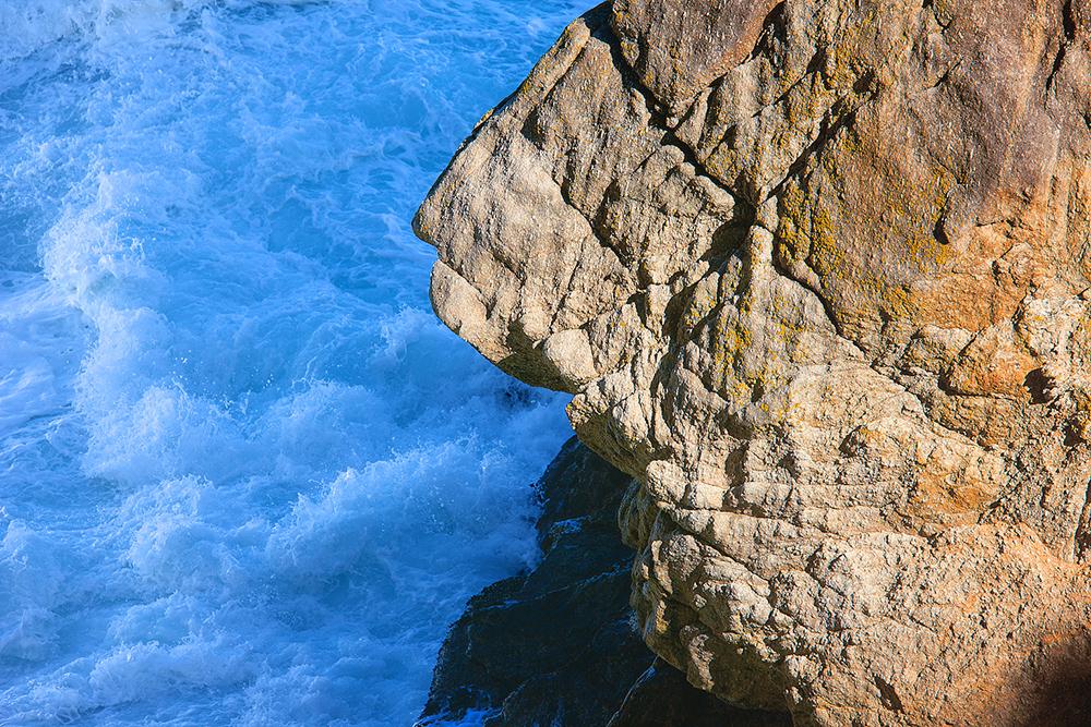 Rocks and Surf. Point Lobos. 2010. Canon EOS-1Ds Mark III