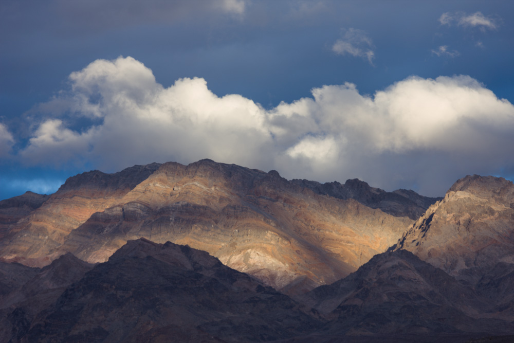 Layered Mountains in the north valley. Death Valley National Park.. 2017. Canon 5DSr.