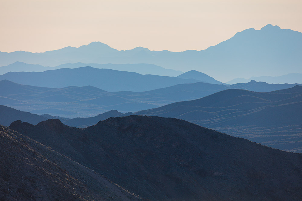 Succession of Ranges. Dante's View. Death Valley National Park. 2016. Canon EOS 5DS R.