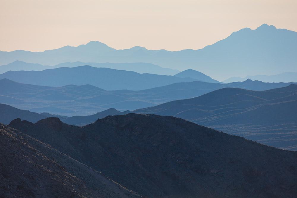 Succession of Ranges. Dante's View. Death Valley National Park. 2016. Canon EOS 5DS R.